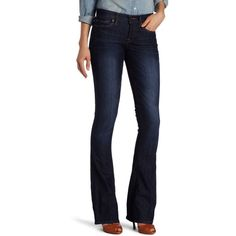 Lucky Brand Women's Sofia Boot Jean ($60) ❤ liked on Polyvore