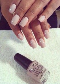 Nude Wedding Nails