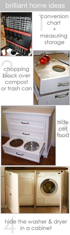 clever ways to disguise everyday things (and keeping pets from overeating)
