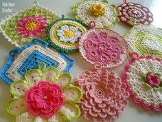 PINK ROSE CROCHET /: Resultados da pesquisa pretty petals potholders