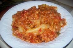 Slow Cooker Cabbage Roll Casserole