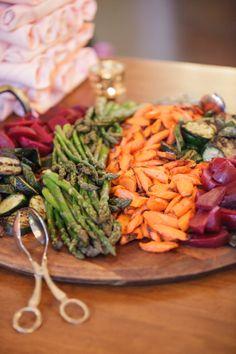 Ravishing Radish's tasty seasonal roasted vegetables. Perfect for almost any menu! Rick+Anna Photography.