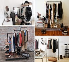 Clothing Storage: Wardrobe Alternatives | Furnish Burnish