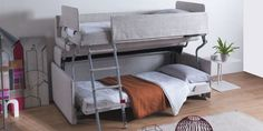 This Bunk Bed Is Also A Sofa  - ELLEDecor.com