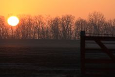 Early winter morning...