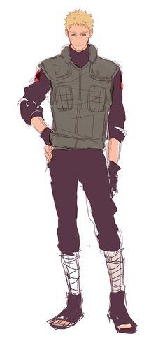 Naruto does look hawt in uniform!!!!