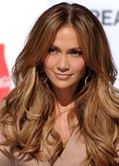 Jennifer-Lopez-Long-Wavy-Hairstyles-2015-with-Thick-Hair | BOCMEOW.