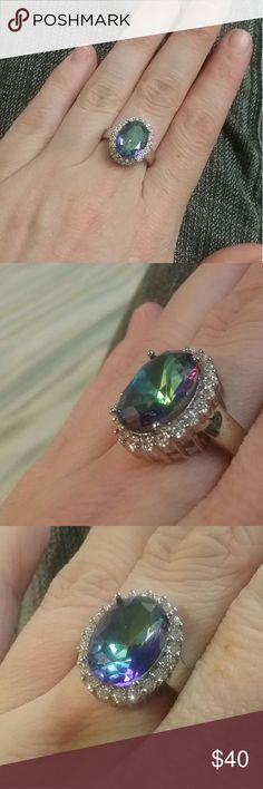 Size 7 mystic topaz ring Brand new Not marked Jewelry Rings