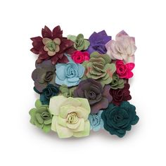 DIY Home Decor: Ann Williams Craft Crush Felt Succulents Kit
