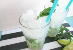 Mojito Cocktail, Glass Of Milk, Cocktails, Food And Drink, Snacks, Desserts, Craft Cocktails, Tailgate Desserts, Appetizers