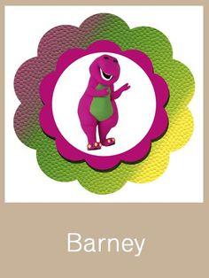 Barney Birthday Party Set