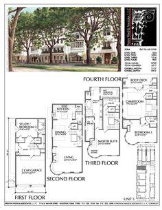 Townhouse Plan D4176 u5