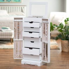 hives u0026 honey chelsea jewelry armoire from