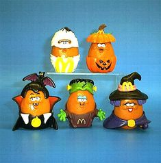 McDonald's toys from the early 90s