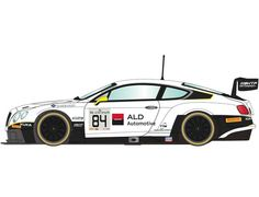 The Scalextric Bentley Continental GT3 - Blancpain Series 2015 is a slot car from the Scalextric Road and Rally car range.