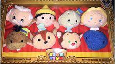 Pinocchio Tsum Tsum Box Set - Limited to 2000 Disney Vans, Cute Disney, Disney Pixar, Disney Jr, Tsum Tsum Sets, Disney Tsum Tsum, Wooden Puppet, Pixar Characters, Tsumtsum