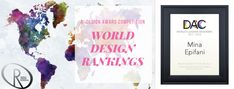 World Design Rankings: i paesi più premiati nel concorso A' Design Award & Competition