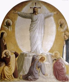 Fra Angelico: The Transfiguration, Monastery of San Marco, Florence