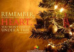 Remember... #Heart #Christmas #Tree