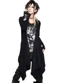 STUDS DRAPE Knit Cardigan / See more at www.cdjapan.co.jp... #punk #jrock