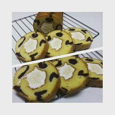 Taro & Cheese Roll Cake