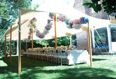 Lanvin Hamptons Party by Confetti Systems #floral #spring #camillestyles