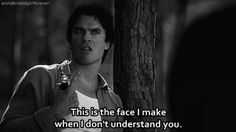 The Vampire Diaries season 6 episode 5 - Damon gif