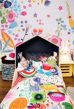 Here are enough creative kids bedroom design ideas to get your creative juices flowing and help you figure out what you can do for your child's bedroom. Baby Bedroom, Girls Bedroom, Bedroom Decor, Bedroom Ideas, Baby Room Art, Fantasy Bedroom, Kids Bedroom Designs, Playroom Design, Deco Design