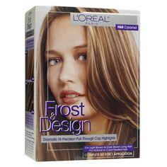 L'Oréal Paris Frost & Design Dramatic Hi-Precision Pull-Through Cap Highlights - H65 Caramel