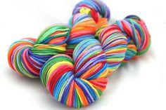 Knit Night/Hyena Cart Double Rainbow