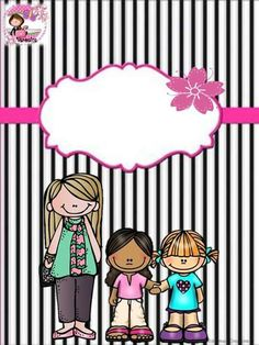 free and adorable binder cover! Binder Tabs, Binder Covers, Borders For Paper, Borders And Frames, School Clipart, Teacher Binder, School Items, Note Paper, Border Design
