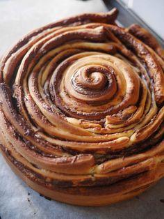 Brioche Swirl with Nutella