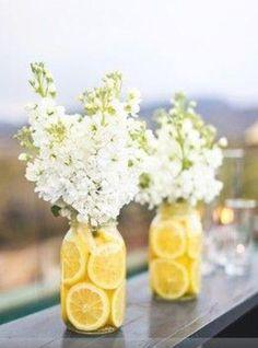 Country wedding center piece for outdoor wedding