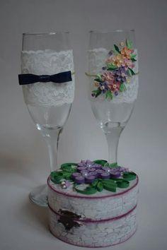 Nunta - pahare miri