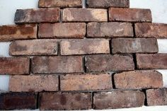 Brindle Brick Slips - Walsall Wood