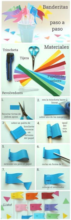 All You Need Is Cupcakes!: DIY: Un festejo de papel hecho a mano