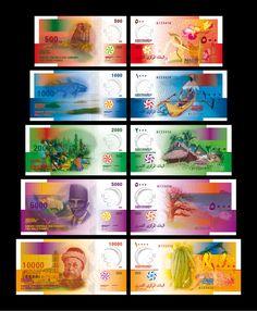 Banque Centrale des Comores Banknote series 2006 _ Roger Pfund
