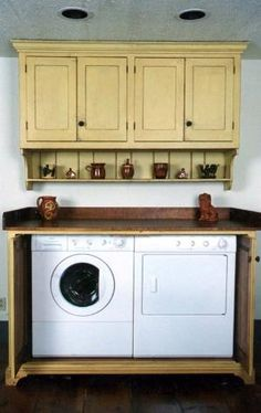 Primitive Laundry Rooms  - LOVE by claire