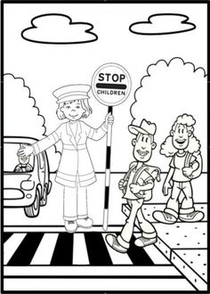 9 rules of the street for teaching road safety to children