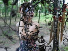 ๖ۣۜForest dreams  forest  Dreamcatcher   corset