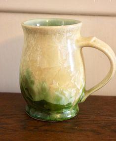 Vintage Edgecomb Pottery English Tea Mug/ Fine Porcelain/