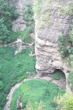 "Grand Gulf State Park near Thayer  This park has been referred to as ""The Little Grand Canyon"" and features a gulf stretching more than a mile with 130-foot-high walls. Take an interpretive trail explaining the gulf's formation, or a trail that takes you under the imposing natural bridge. There is no official trail leading to the bottom, so you should use caution if that is your goal, and there are no camping facilities or running water."