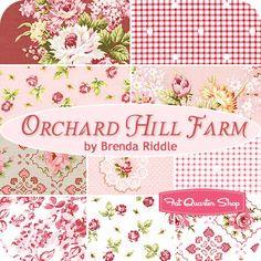 Orchard Hill Farm Fat Quarter Bundle Brenda Riddle for Lecien Fabrics - Fat Quarter Shop