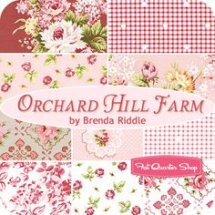Orchard Hill Farm Fat Quarter Bundle Brenda Riddle for Lecien Fabrics - Fat Quarter Shop #fqsgiftguide