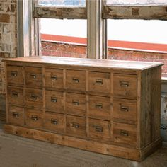 Great to store heirloom seeds inOld Pine Seed Cabinet
