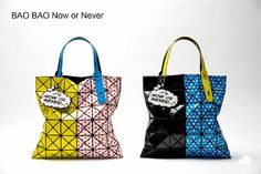 Now or Never Collection  Love the yellow one! So pop art! :)