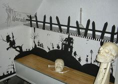 Nightmare Before Christmas wall painting | Home Decor | Pinterest ...