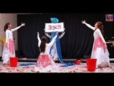 Ministério de Dança Louvor na Terra Jesus Amado - YouTube