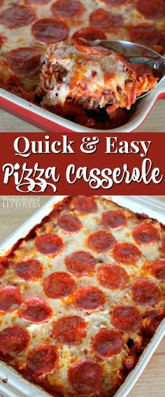 This quick and easy pizza casserole recipe is a favorite with kids! Use your fav… This quick and easy pizza casserole recipe is a favorite with kids! Use your favorite pizza toppings to make a pizza pasta bake. The pasta cooks in the oven. Dinner Casserole Recipes, Pizza Recipes, Kids Cooking Recipes Easy, Easy Recipes For Dinner, Pasta Bake Recipes, Quick And Easy Recipes, Easy Casserole Dishes, Amish Recipes, Budget Recipes