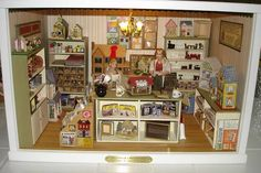 Hey, I Shrunk a Miniature Shop! by Connie Sauve